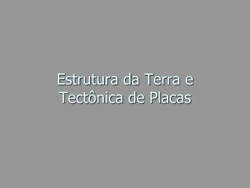 Tectônica de placas - Geoturismobrasil.com