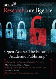 Open Access: The Future of Academic Publishing? - British ...