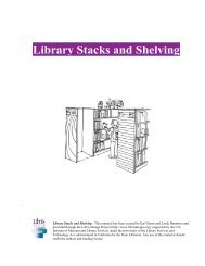 Library Stacks and Shelving - Libris Design