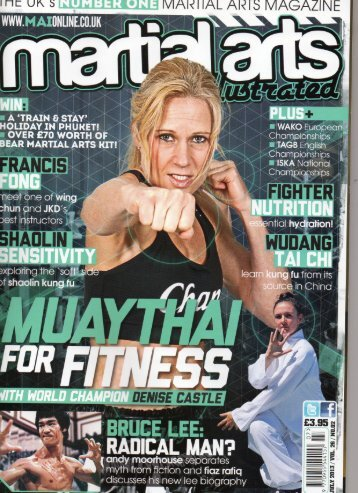 Martial Arts Illustrated - July 2013 - Wudang Pai Kung Fu GB