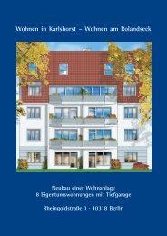 Wohnen in Karlshorst – Wohnen am Rolandseck