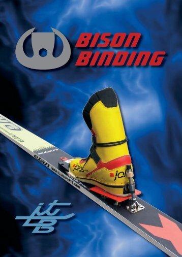 in the Bison Binding ski jumping bindings metal ... - Low Bind Oy