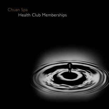 Chuan Spa Health Club Memberships - The Langham, Chicago