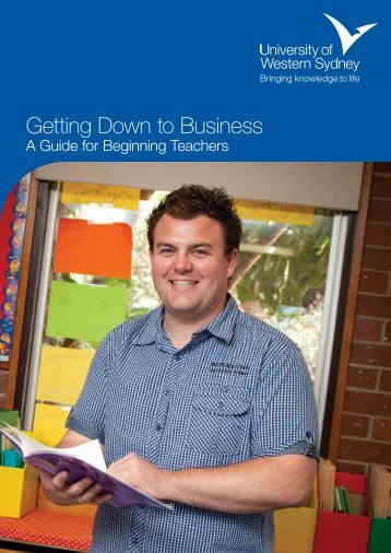 Getting Down to Business - University of Western Sydney