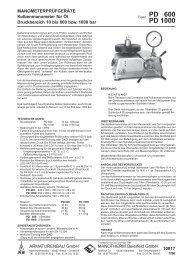 PD 600 PD 1000 - manotherm.kz