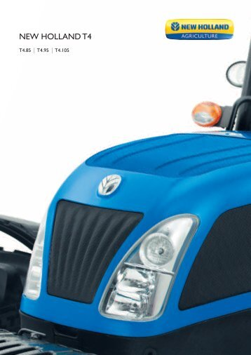 Prospekt NEW HOLLAND T4 Medium - new-holland-traktoren ...