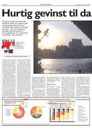 Hurtig gevinst til danske virksomheder i Kina