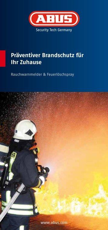 Präventiver Brandschutz für Ihr Zuhause - ABUS