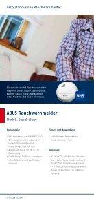 Präventiver Brandschutz für Ihr Zuhause - ABUS - Seite 4