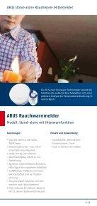 Präventiver Brandschutz für Ihr Zuhause - ABUS - Seite 5