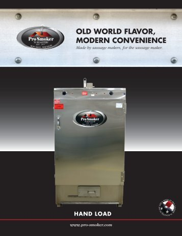 Download Brochure - Pro Smoker