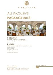 all inclusive package 2013 - Marbella Beach Hotel Holidays Corfu
