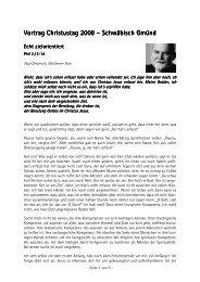 Paul Dieterich - Lebendige Gemeinde