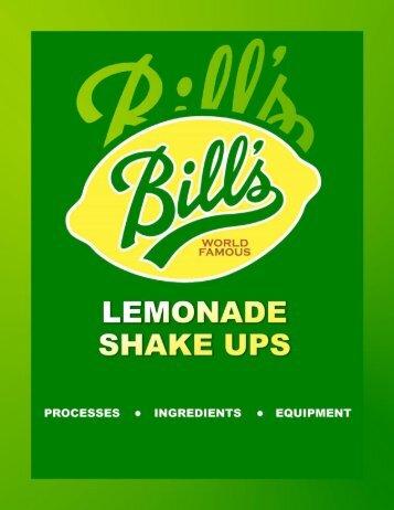 Bill's Lemonade Catalog PDF