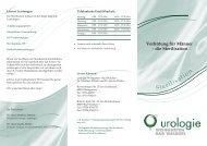 Verhütung für Männer - die Sterilisation - Urologie Weingarten