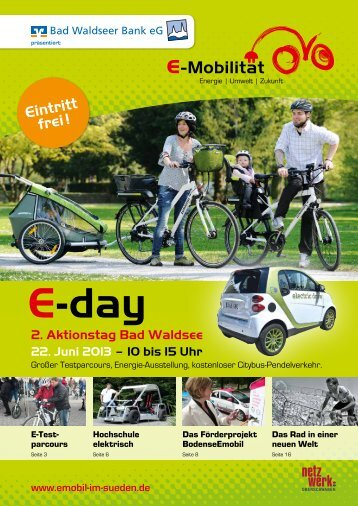 E-day Magazin - Stadt Bad Waldsee