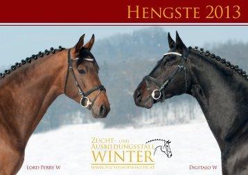 Download Hengstkatalog 2013 - Zucht- und Ausbildungsstall Winter