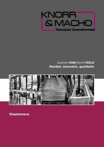 Elastomere - Knorr & Macho GmbH