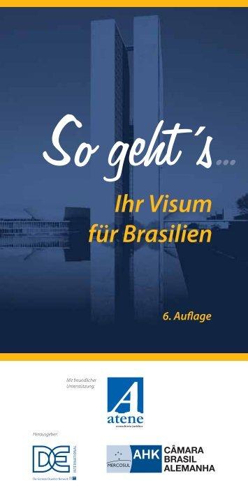 Ihr Visum für Brasilien - ATENE