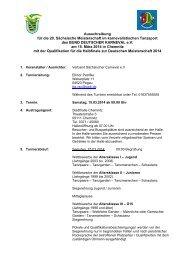 die Ausschreibung zum download als pdf… - VSC