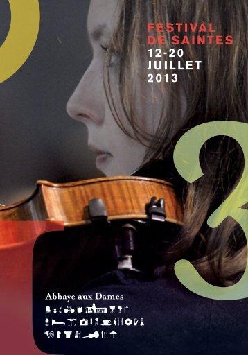 Télécharger le programme [PDF] - Abbaye aux Dames