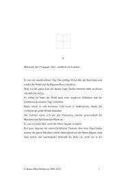 Leseprobe 400 Seiten - Der Wunder-Tunnel