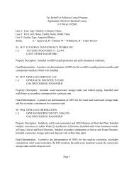 Page 1 Tax Relief For Pollution Control Property Applications Filed ...