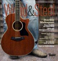 Starkes Mahagoni - Taylor Guitars