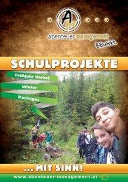 Schulfolder 2013 - Abenteuer Management