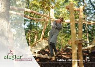 Katalog . Catalogue - Ziegler Spielplätze von A bis Z