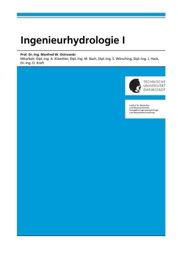 Ingenieurhydrologie I - Institut für Wasserbau und Wasserwirtschaft ...