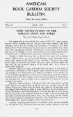 Bulletin - North American Rock Garden Society - Page 3