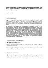 Gestaltungsrichtlinien für Sponsorhinweise vom 31.03.2005.