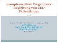 Komplementäre Wege in der Begleitung von CED Patienten - ivepa.at