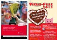 Programm Vitusfest 2013 (PDF) - Das Vitus-Fest in Everswinkel