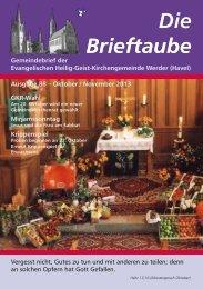 Ausgabe 88 Oktober - November 2013 - Heilig-Geist ...