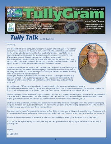 Current newsletter - Summer 2013 (pdf) - Tulpehocken Chapter of ...