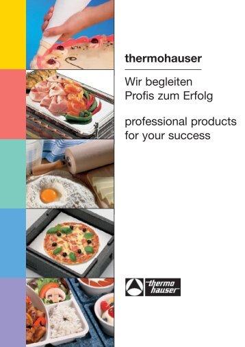 thermohauser Wir begleiten Profis zum Erfolg professional ... - Truebell