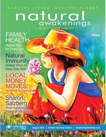 Natural Immunity Sharon Salzberg LOCAL MONEY MOVES FAMILY ...