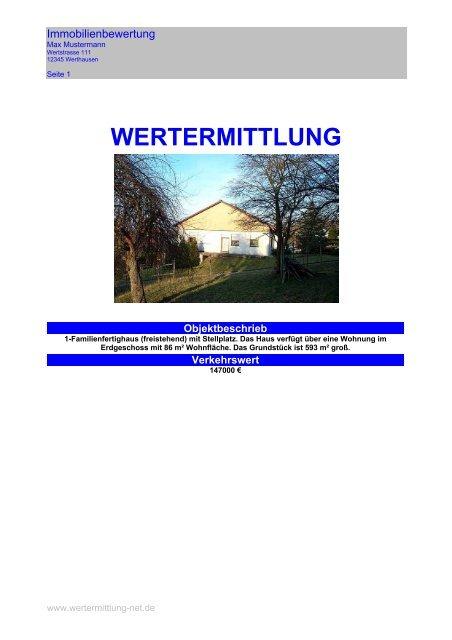 WERTERMITTLUNG
