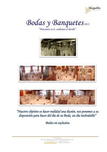 Bodas y Banquetes 2010 - Venta Magullo.