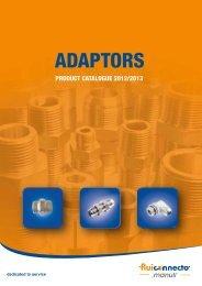 Fluiconnecto Adaptors 2012 2013 catalogue