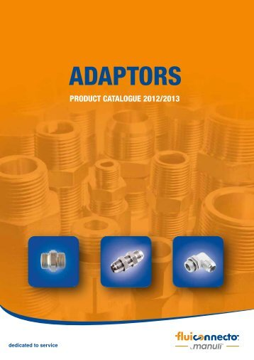 Fluiconnecto Adaptors 2012 2013 catalogue