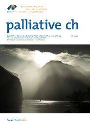 Trauer / Deuil / Lutto - Palliative ch