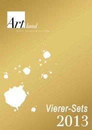 Artland GmbH Katalog Vierer-Sets 2013 [PDF, 2012 KB]