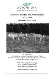 1998 - Projekte Ökologie Landwirtschaft