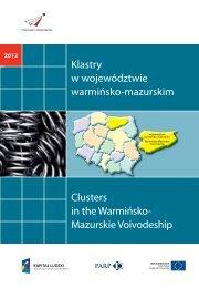 Klastry w województwie warmińsko-mazurskim ... - Portal Innowacji