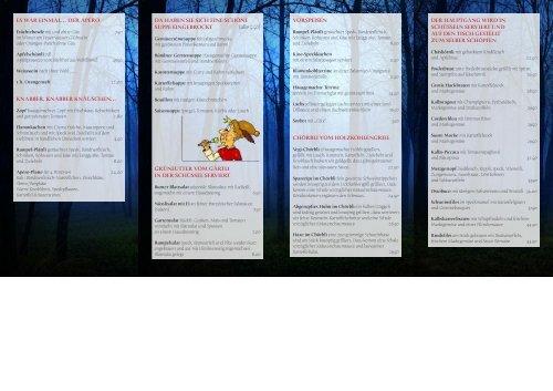 Bankett- vorschläge (PDF)