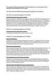Die Entwicklung der TTR-Wert-Berechnung von ... - myTischtennis.de