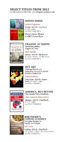 Douglas & McIntyre Spring 2013 Catalogue - Page 7